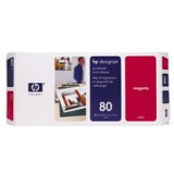 HP No.80 Printhead and Cleaner Magenta Code C4822A