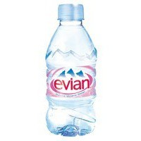 Evian Natural Mineral Water 330ml Bottle Pack 24