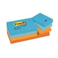 3M Post-it Notes Cool Pastel Rainbow 38x51mm Pad Code 653ML
