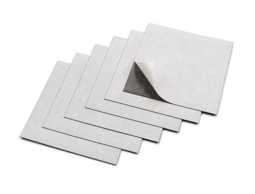 Nobo Adhesive Magnetic Squares White Code 1901103