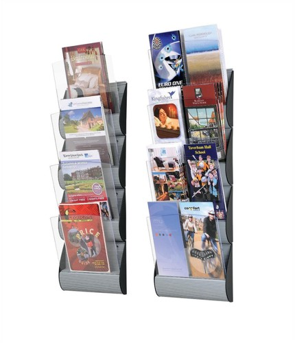 Wall Display 4 x A5 or 8 x One Third A4 Pockets