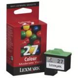 Lexmark No.27 Moderate Use Inkjet Cartridge Colour Code 10NX227E
