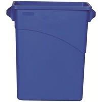 Slim Jim 60L Recycle Logo Bin 3541-73BLU