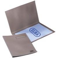 Elba Square Cut Folder Recycled Heavyweight 290gsm Foolscap Buff