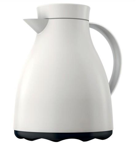 Emsa Easy Clean 1litre Vacuum Jug White Code 507591