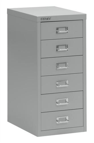 FBisley SoHo 6-dwr Multidrawer Grey