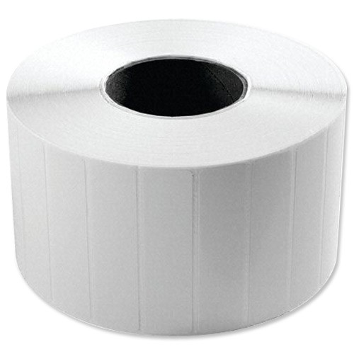 Wasp Thermal Transfer Peelable Barcode Labels 50x25mm 2300 Labels Per Roll Ref 633808402501 [4 Rolls]