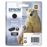 Epson 26XL Polar Bear Claria Premium Ink Black T2621