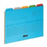Elba Ultimate Tabbed Folders A4 Assorted Pack 25 Code 100330160
