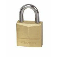 Image for Masterlock Padlock Brass 50mm 150D