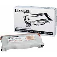 Lexmark C510 High Yield Toner Cartridge Black 20K1403