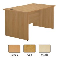 Image for Jemini Maple 1200mm Panel End Rect Desk