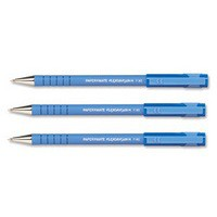 PaperMate Flexgrip Ultra Ball Point Pen Fine 0.8mm Tip 0.5mm Line Blue Code S0190093