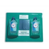 Wallace Cameron First-Aid Emergency Eyewash Station 2 x 500ml Bottles 206x49xH205mm Code 2402028