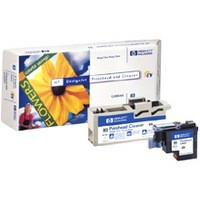 Image for HP 81 Light Cyan Printhead & Printhead Cleaner for 5000 & 5000PS Ref C4954A 3 to 5 Day Leadtime