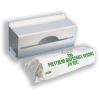 Apron Roll Dispenser Wall Mountable holds 200 Aprons