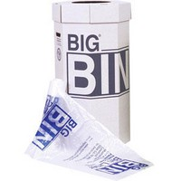Large Bin Flat Packed Recycled Board Material 160 Litres [Pack 5]