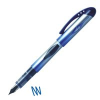 Bic Disposable Fountain Pen With Ink Window Iridium Nib Line 0.7mm Blue Code 847610
