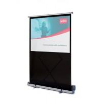 Image for Nobo Projection Screen Floor-standing Portable 1500mm Diagonal Matt White Ref 1901955