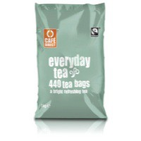 Cafe Direct Teabags Fairtrade Everyday Tea Ref A06634 [Pack 440]