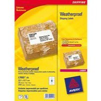 Avery Waterproof Shipping Labels 99.1x67.7mm Pack 25 Code L7993-25