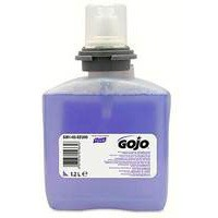 Gojo Foam Soap Refill With Conditioner For Tfx Dispenser 1200ml For 2000 Applications Code N06250