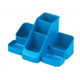 Avery Basics Desk Tidy 7 Compartments 164x116x85mm Blue Code 1137BLUE