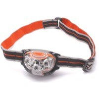 Image for Energizer Pro Advanced Headlight Torch 5 Bright LED 2 Red LED Weatherproof Pivot Head 20hr Ref 631638
