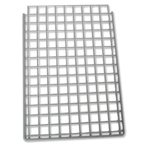 Versapak Single Extra Shelf Plastic-Coated Steel W267mm Grey for Versapak Mailsorter Ref MSS1
