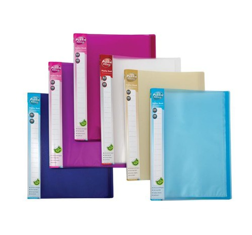 Pukka Display Book Polypropylene 40 Pockets A4 Assorted