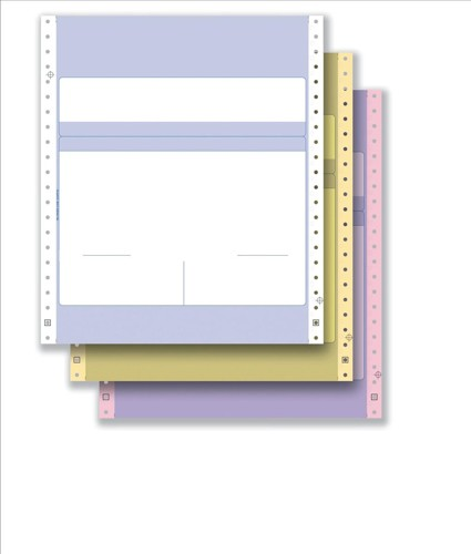 Communisis Pegasus Compatible Invoice and Purchase Order 3 Part 241x279mm Box 500 Code DUKPE018