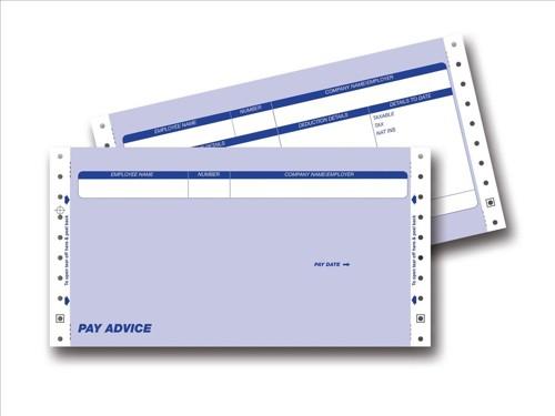 Communisis Pegasus Compatible Secure Pay Advice 3 Part 241x127mm Box 1000 Code DUKPE023