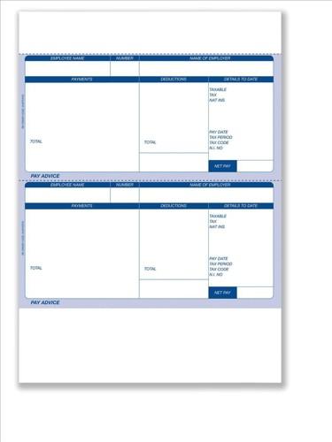 Communisis Pegasus Opera II-Compatible Laser Pay Advice3 Box 125x2 Code DUKPOP03
