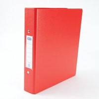 Elba Ring Binders Heavyweight PVC 2 O-Ring Size 25mm A5 Red Code 100082444
