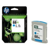 HP No.88 Inkjet Cartridge High Yield 17ml Cyan Code C9391AE