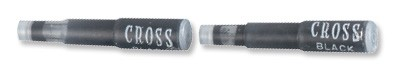 Cross Fountain Pen Liquid Ink Cartridge Refill Black Code 89214D