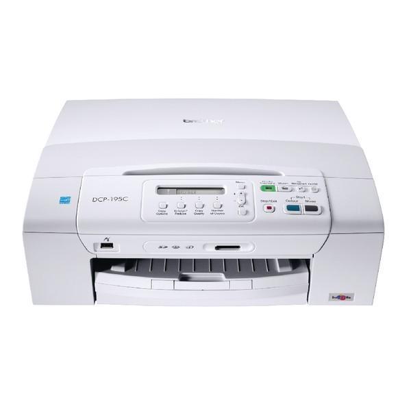 Brother DCP-195CZU1 Mono Multifunction Inkjet Printer Ref DCP195CZU1
