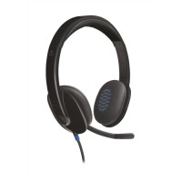 Image for Logitech H540 Headset USB Laser-tuned Speakers with On-ear Controls Ref 981-000480