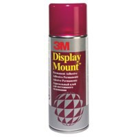 Image for 3M DisplayMount Adhesive Spray Can Instant Hold CFC-Free 400ml Ref DMOUNT