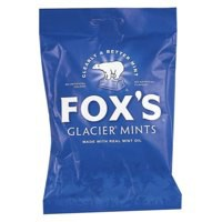 Foxs Glacier Mints Wrapped Boiled Sweets in Bag 200g Code A06011