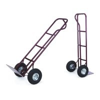 Image for Barton Sack Truck P-Handled Steel Frame Pneumatic Wheels Capacity 200kg W540xD475xH1310mm Ref PHPTST