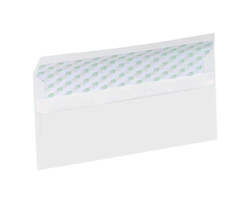 Ecolabel Envelopes Recycled Wallet Plain Press Seal 90gsm DL White Ref  [Pack 1000]