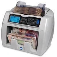 Image for Safescan 2665 Banknote Counting Machine Pound and Euro Adjustable 800-1500 Notes/min 6.5kg Ref 112-0350