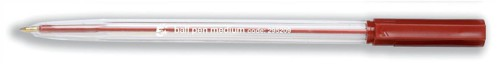 5 Star Office Medium Ball Pen Red