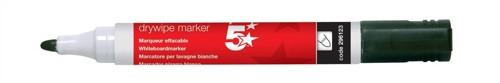5 Star Office Dwipe Marker Black 449650