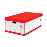 Image for 5 Star Jumbo Storage Box White