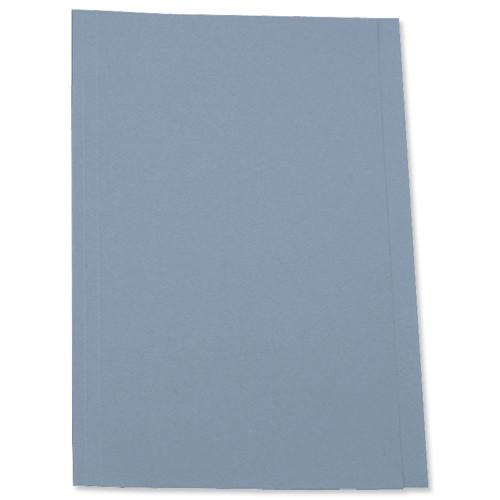 5 Star Square Cut Folder 250g Fcp Blue