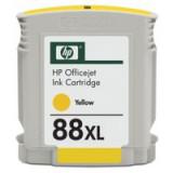 HP No.88 Inkjet Cartridge High Yield 17ml Yellow Code C9393AE