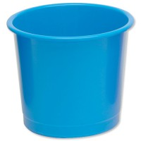 Image for 5 Star Waste Bin Polypropylene 14 Litres D304xH254mm Blue