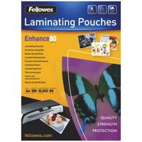 GBC Hi-Speed Laminating Pouches Premium Qualty 30Percent Faster 150 Micron A4 Code 3747347